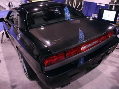 Dodge Challenger OEM Carbon Fiber Trunk