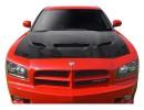 Dodge Charger MK1 Capota Hellcat-Look Fibra De Carbon