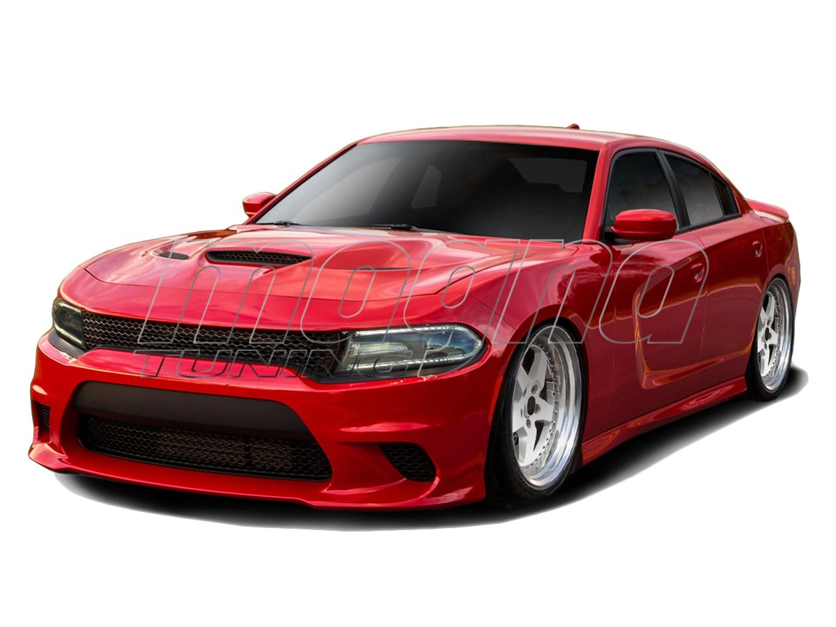 dodge charger mk2 body kit hellcat look. Black Bedroom Furniture Sets. Home Design Ideas