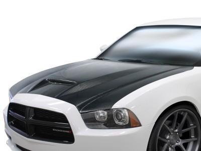 Dodge Charger MK2 Capota Sector Fibra De Carbon
