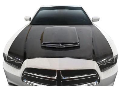 Dodge Charger MK2 Capota TAX Fibra De Carbon