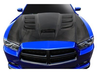Dodge Charger MK2 Capota Viper-Look Fibra De Carbon