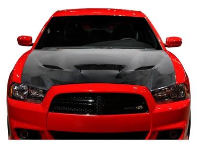 Dodge Charger MK2 H-Look Karbon Motorhazteto