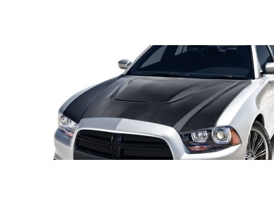 Dodge Charger MK2 SRT-Look Carbon Fiber Hood