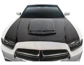 Dodge Charger MK2 TAX Carbon Fiber Hood