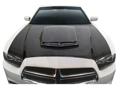 Dodge Charger MK2 TAX Carbon Fiber Hood