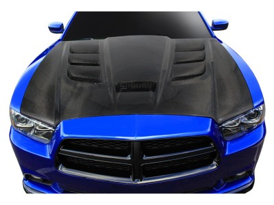 Dodge Charger MK2 Viper-Look Carbon Fiber Hood