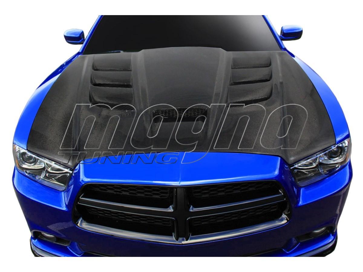 Dodge Charger MK2 Viper-Look Carbon Motorhaube