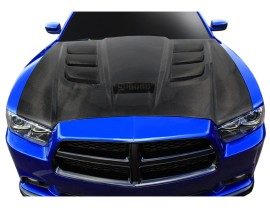 Dodge Charger MK2 Viper-Look Carbon Motorhaube