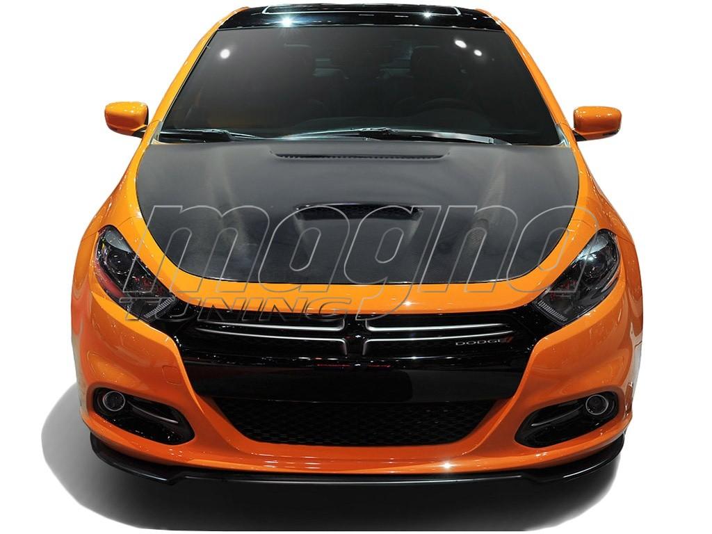 Dodge Dart Apex Carbon Motorhaube