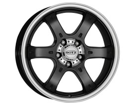 Dotz Crunch Black Polished Felge