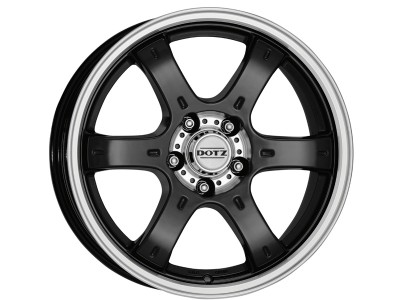 Dotz Crunch Black Polished Wheel