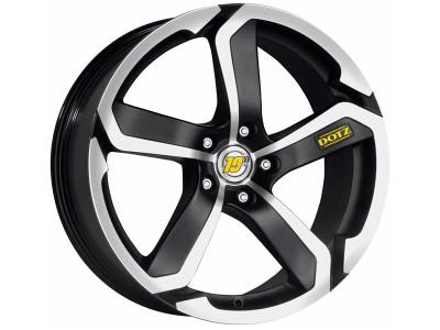 Dotz Hanzo Matt Black Polished Wheel
