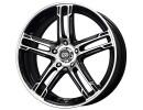 Enkei FD05 Black Machined Wheel