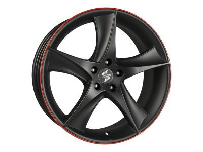 Etabeta Jofiel Black Red Wheel
