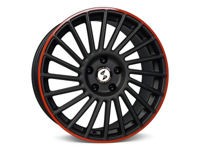 Etabeta Venti-R Black Red Felge