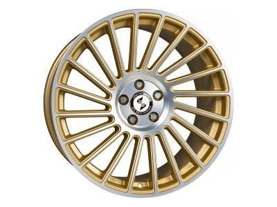 Etabeta Venti-R Gold Matt Polish Felge