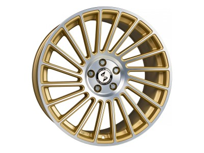 Etabeta Venti-R Gold Matt Polish Wheel