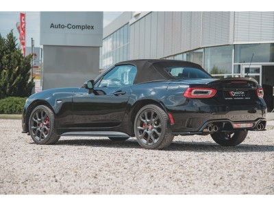 Fiat 124 Spider Abarth MX Side Skirt Extensions