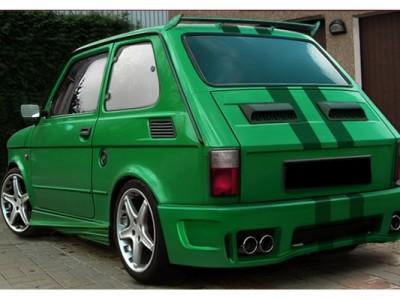 Fiat 126P Street Heckflugel