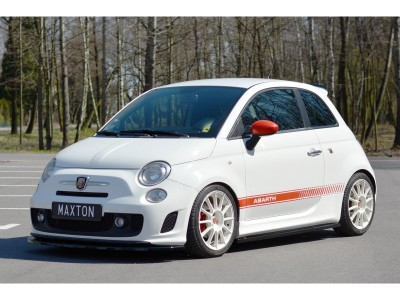 Fiat 500 Abarth Master Side Skirt Extensions