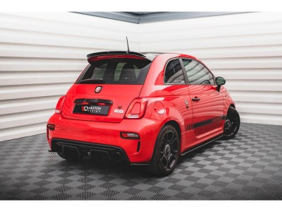 Fiat 500 Abarth Matrix Rear Bumper Extensions