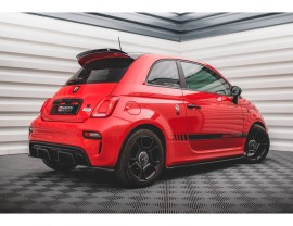 Fiat 500 Abarth Matrix Side Skirt Extensions