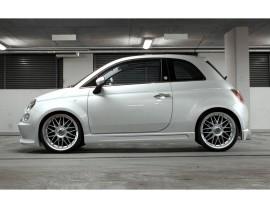 Fiat 500 Freeride Seitenschwellern