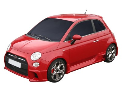 Fiat 500 Giovanni Side Skirts