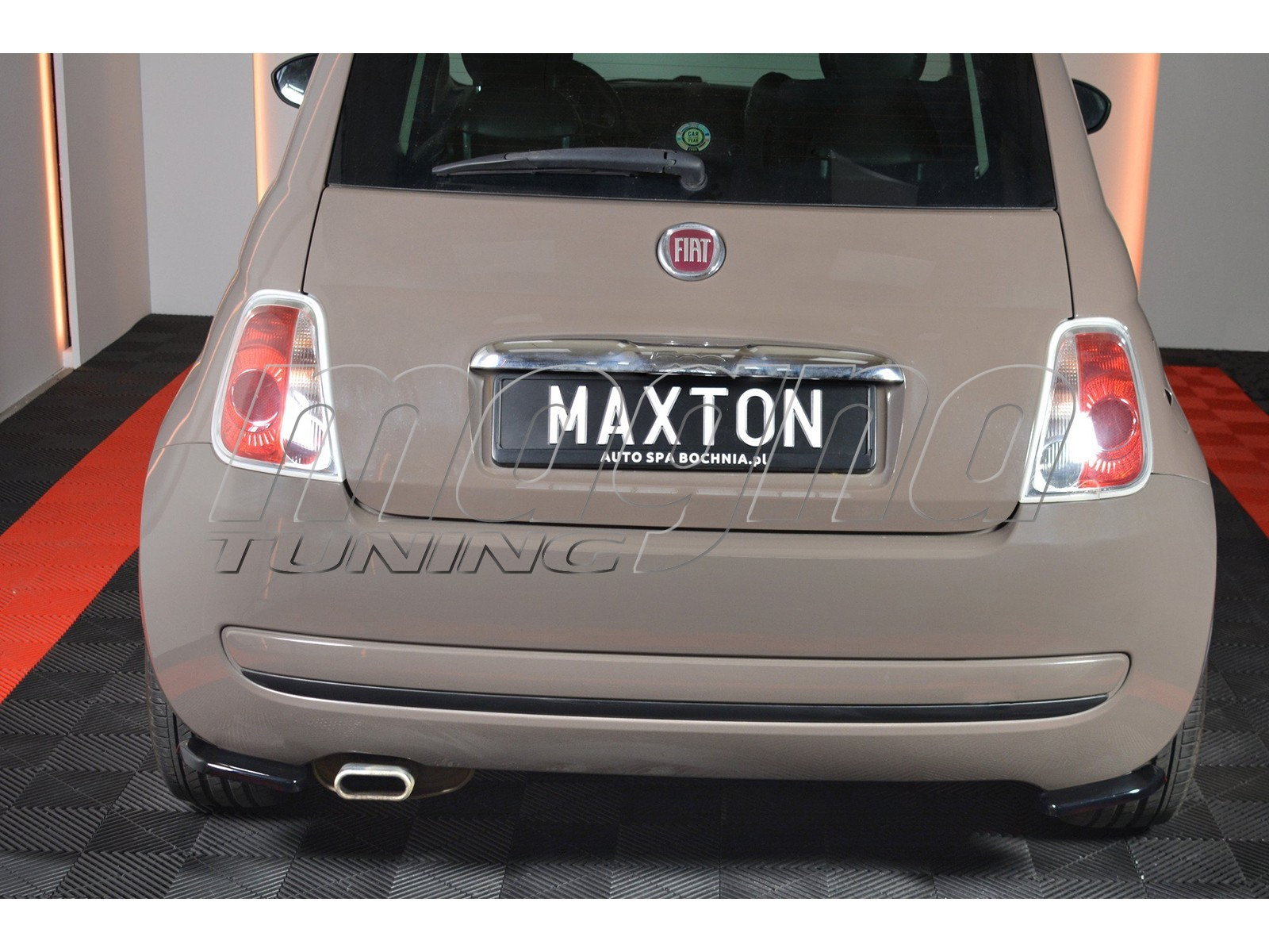 Fiat 500 MX Rear Bumper Extensions