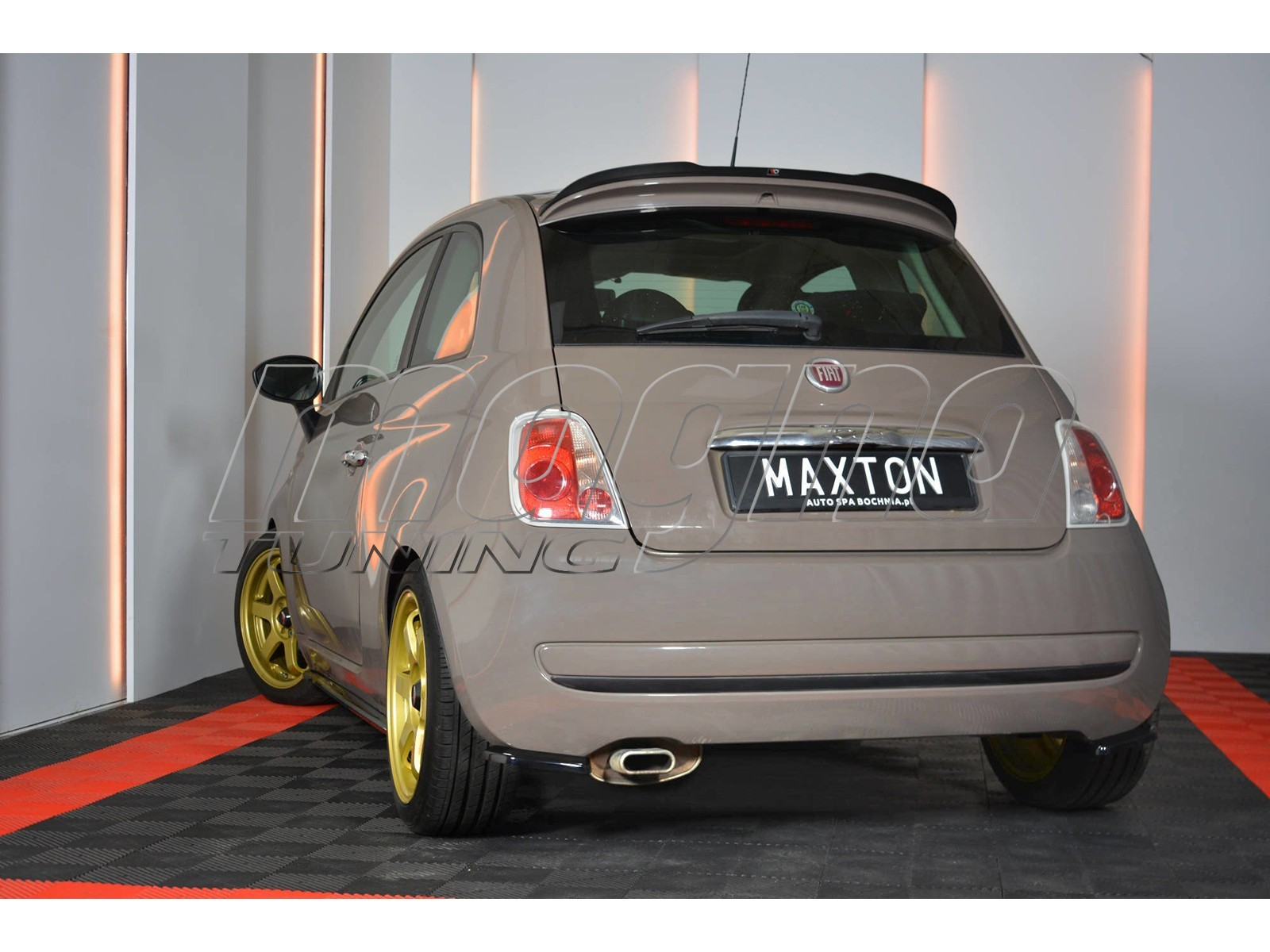 Fiat 500 MX Rear Wing Extension