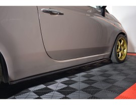 Fiat 500 MX Side Skirt Extensions