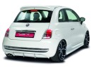 Fiat 500 NewLine Rear Bumper Extension