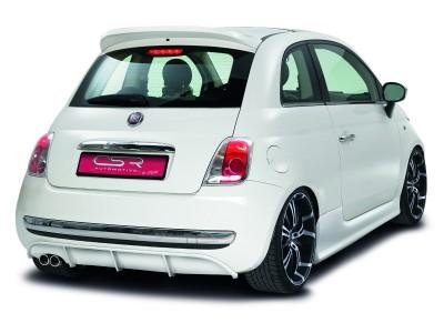 Fiat 500 NewLine Rear Bumper Extension