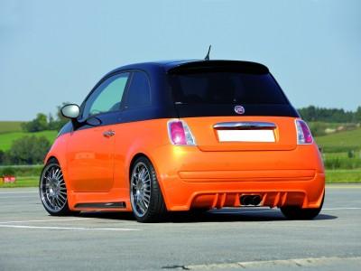 Fiat 500 Recto Heckansatz