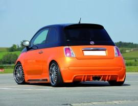 Fiat 500 Recto Rear Bumper Extension