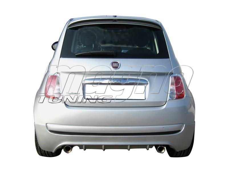 Fiat 500 Speed Heckansatz