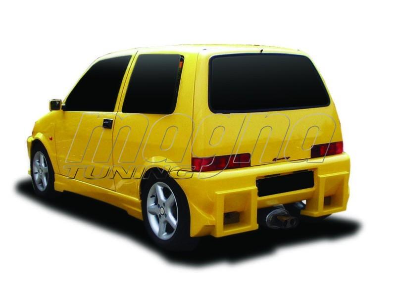 Fiat Cinquecento S3 Heckstossstange