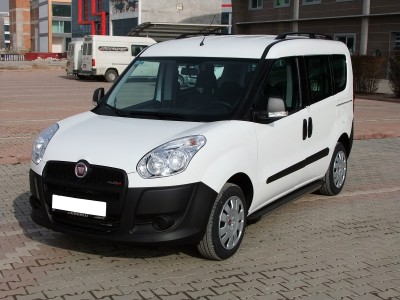Fiat Doblo 2 Trax2 Running Boards