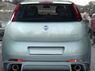 Fiat Grande Punto Aggressive Heckstossstange