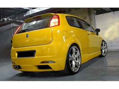 Fiat Grande Punto Bara Spate Radioactive