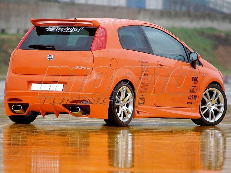 Fiat Grande Punto LX Heckansatz