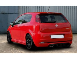 Fiat Grande Punto MaxStyle Heckansatz