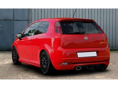 Fiat Grande Punto MaxStyle Rear Bumper Extension