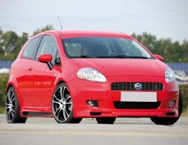 Fiat Grande Punto Vector Frontansatz