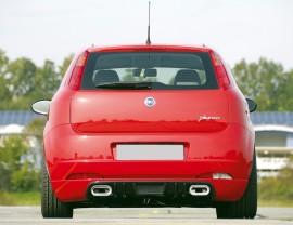 Fiat Grande Punto Vector Heckansatz