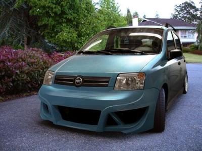 Fiat Panda ASX Frontstossstange