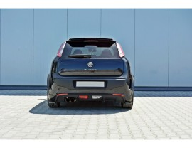 Fiat Punto EVO Abarth Matrix Rear Bumper Extensions