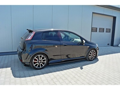 Fiat Punto EVO Abarth Matrix Side Skirt Extensions