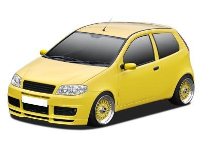 Fiat Punto MK2 Facelift N1 Front Bumper Extension